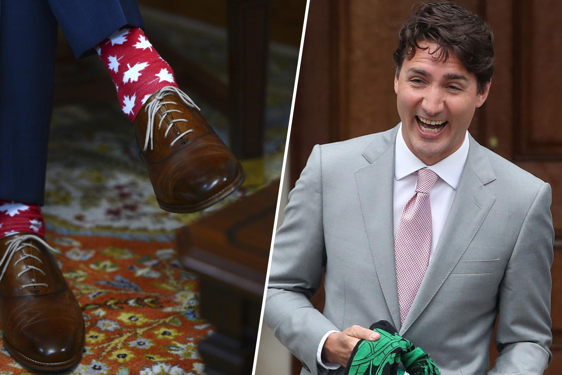 Bild zu Justin Trudeau, Socken