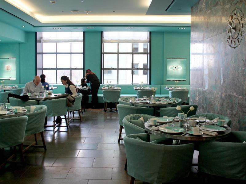 Bild zu Blue Box Cafe bei Tiffany's