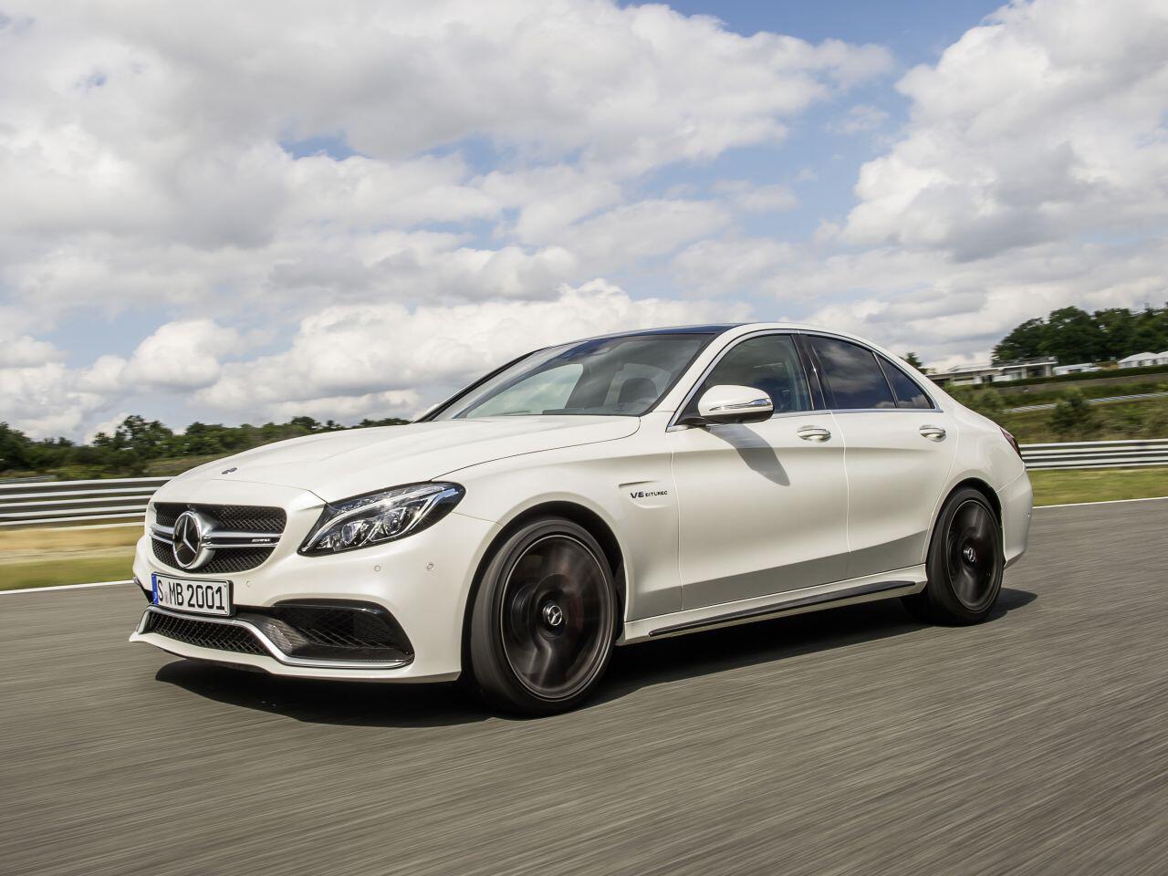 Bild zu Mercedes-AMG C63