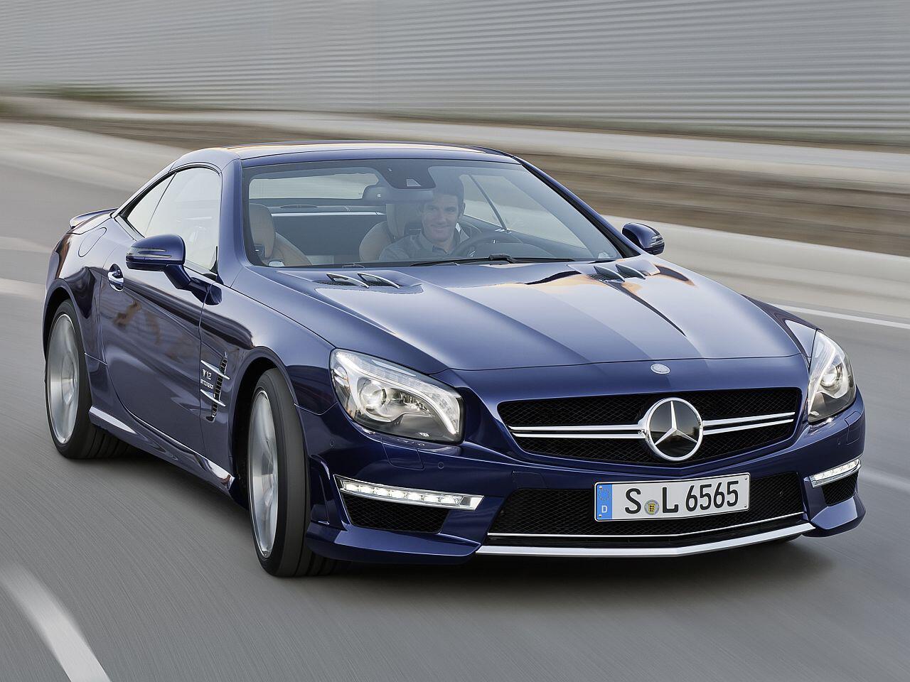 Bild zu Mercedes SL 500