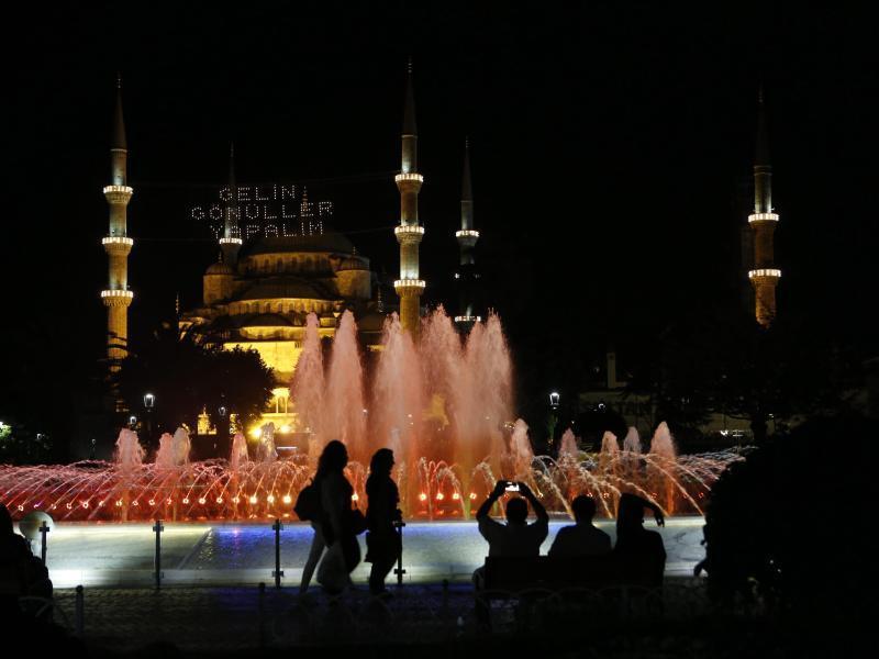 Bild zu Blaue Moschee in Istanbul