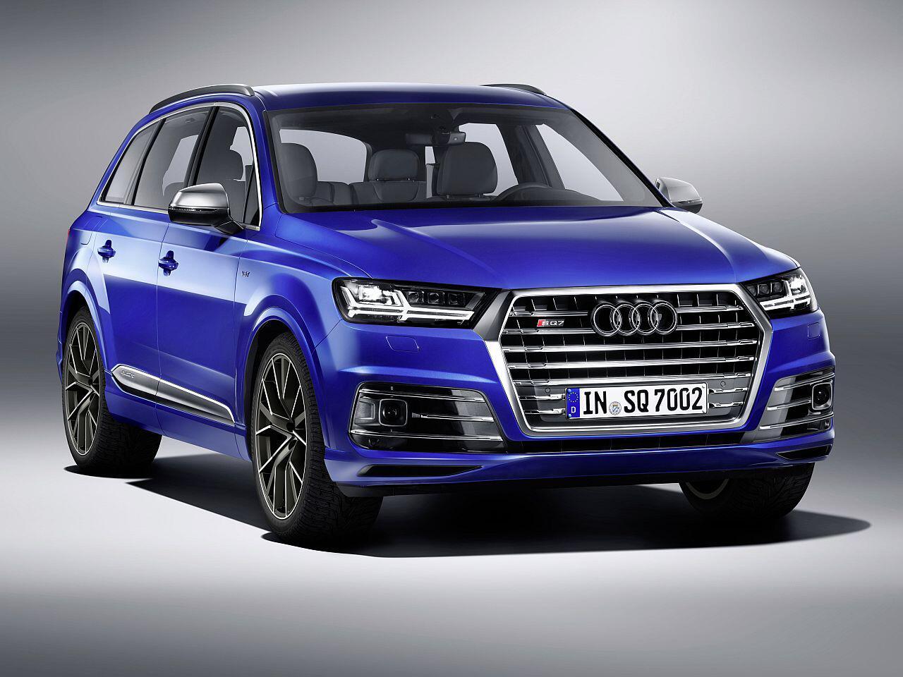Bild zu Audi SQ7 4.0 TDI