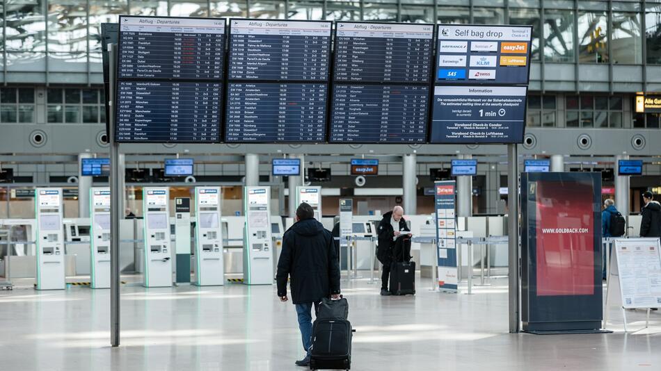 Coronavirus - Flughafen Hamburg