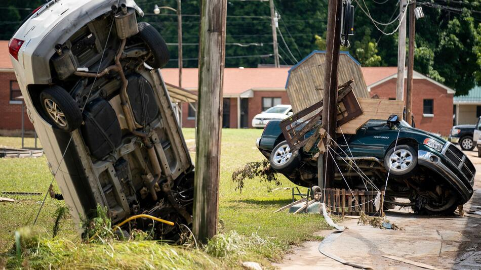 Unwetter in den USA - Tennessee