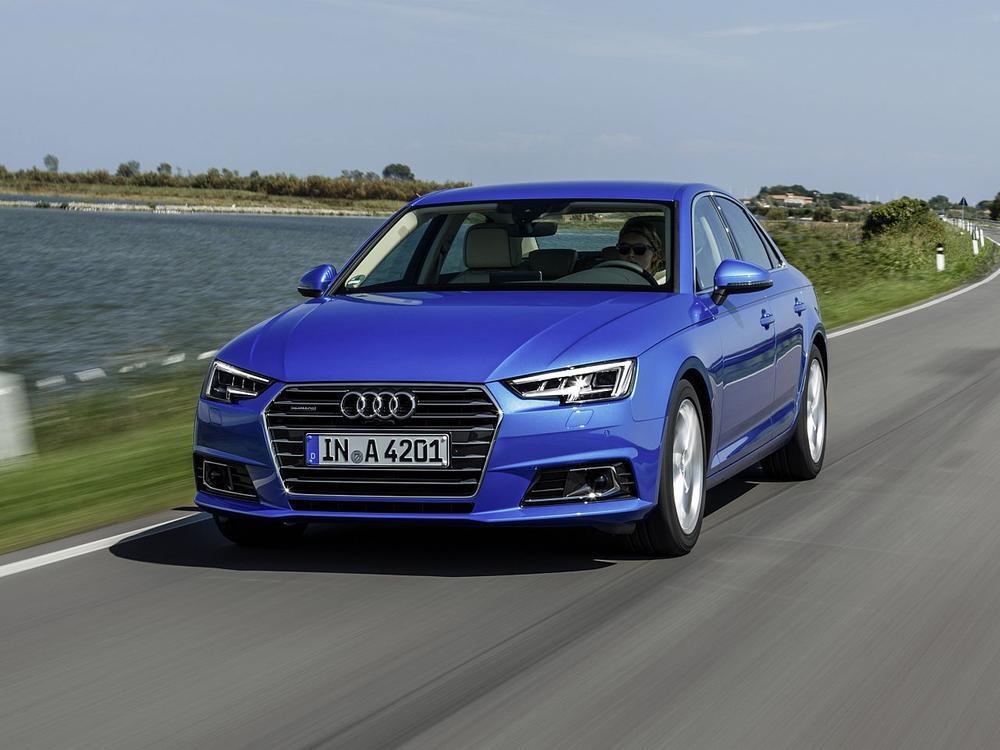Bild zu Mittelklasse: Platz 3 - Audi A4