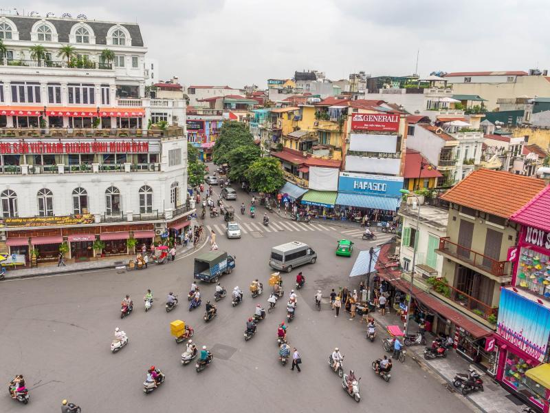 Bild zu Vietnams Metropole Hanoi