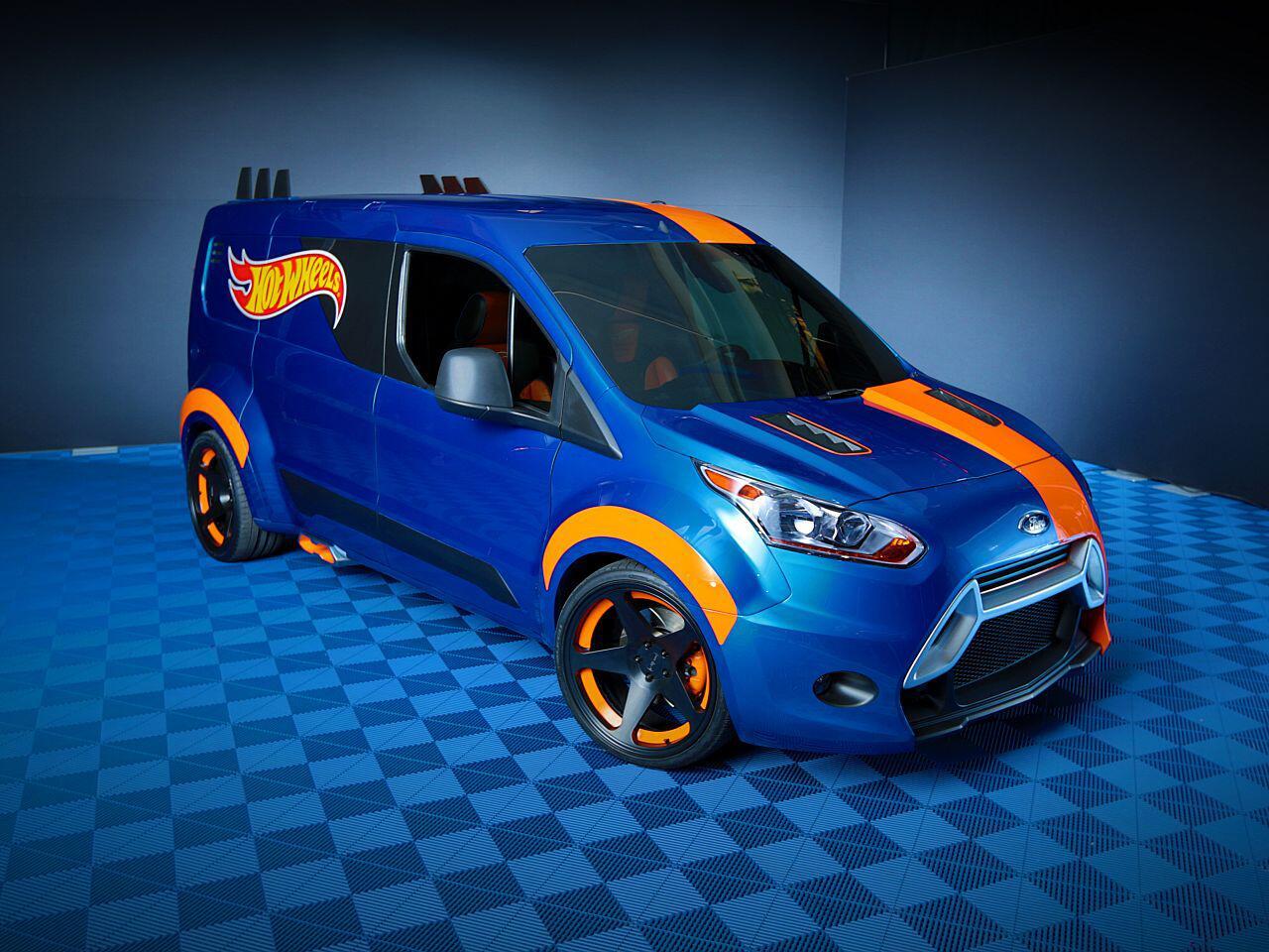 Bild zu Ford Transit Connect von Hot Wheels: Begeistert kleine wie große Kinder