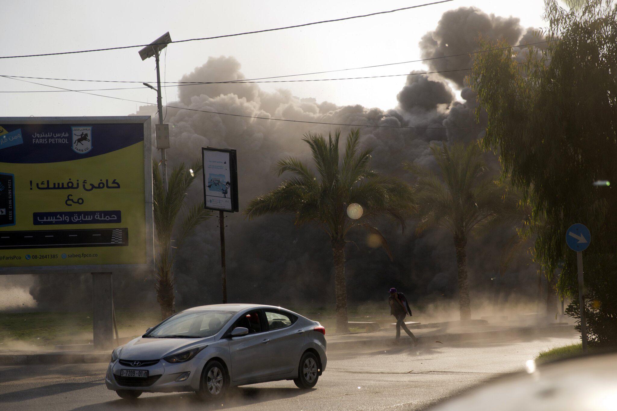 Bild zu Israelischer Raketenangriff auf Gazastreifen