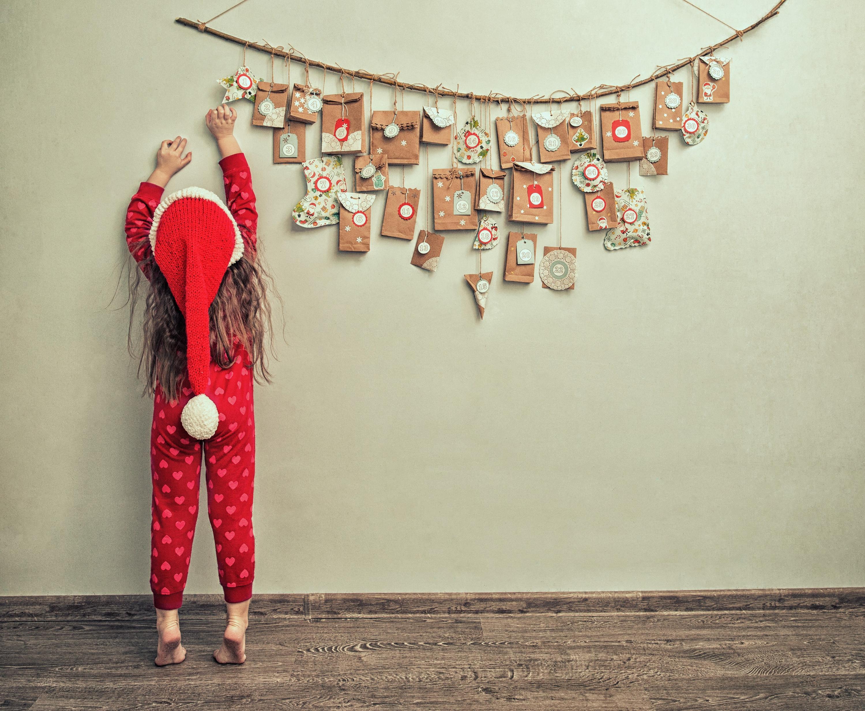 Bild zu Wunderbar originelle und traditionelle Adventskalender für Kinder.
