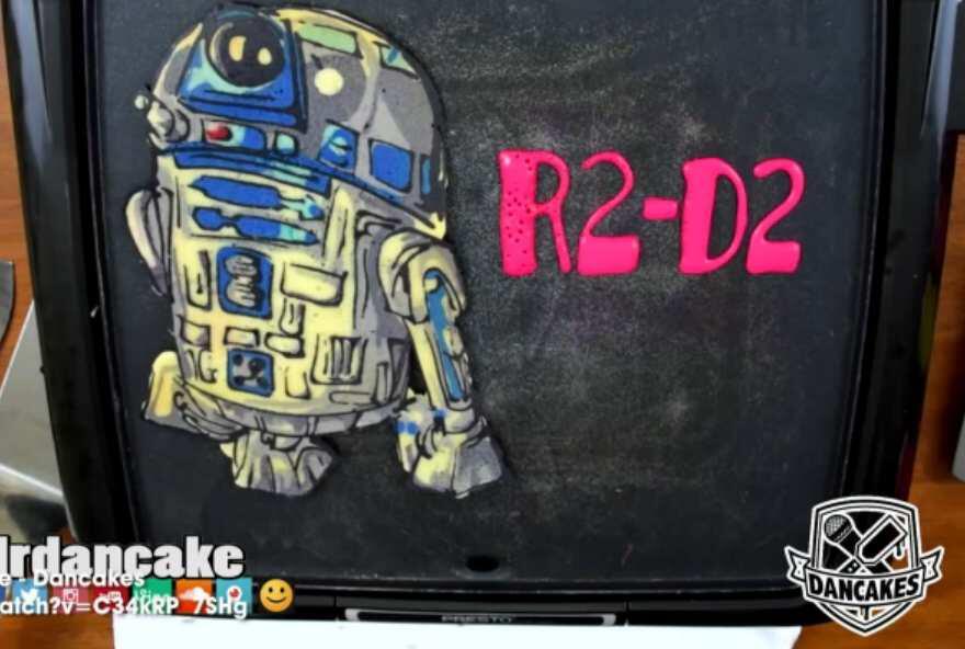 Bild zu Star Wars Pfannenkuchen