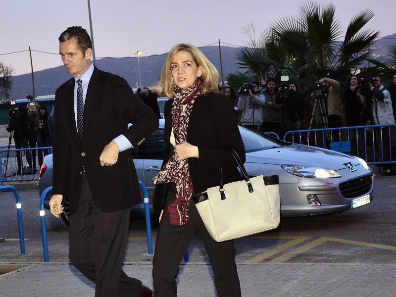 Bild zu Prozess gegen Infantin Cristina
