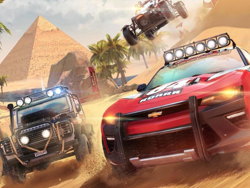 Bild zu Autorennen in der Wüste