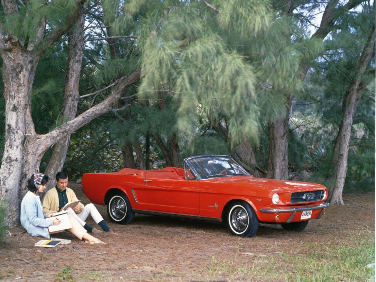 Bild zu 50-jähriges Jubiläum: Das amerikanische Pony Car Ford Mustang