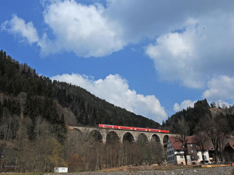 Bild zu Höllentalbahn im Schwarzwald