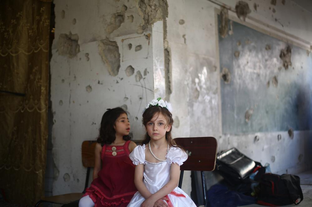 Kinder, Krieg, Syrien