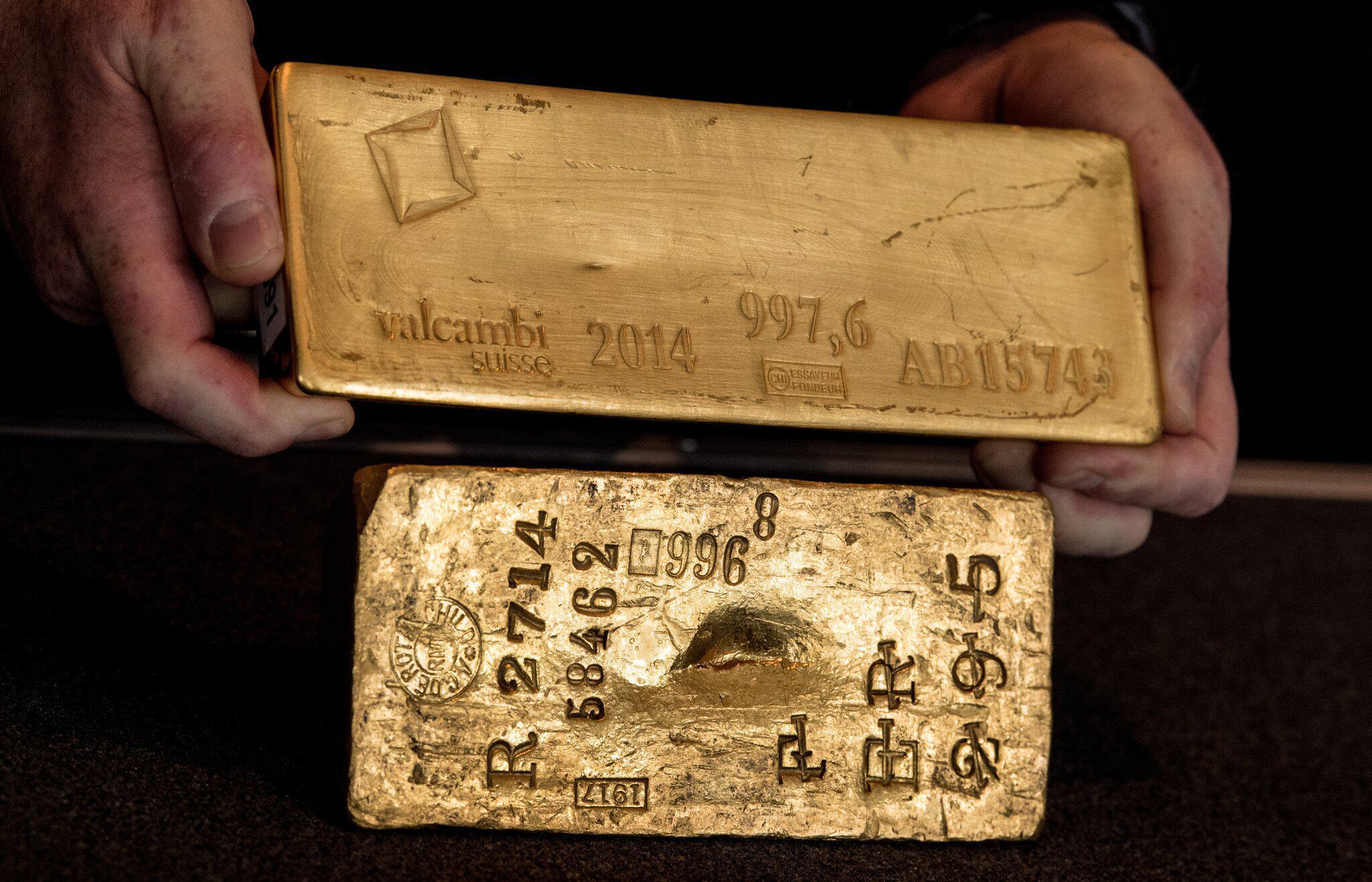 Bild zu Bundesbank zeigt deutsches Gold