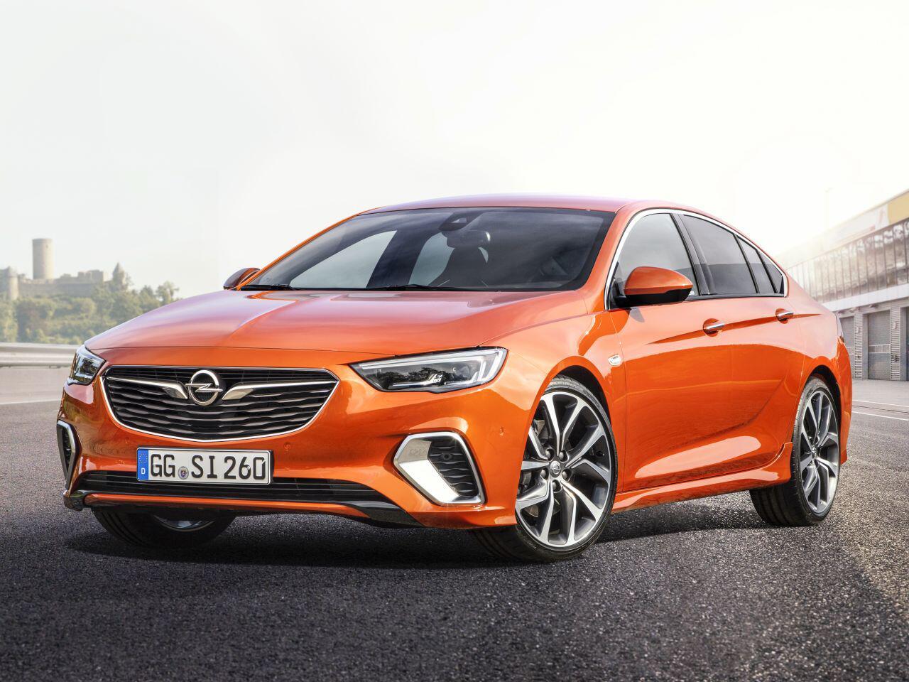 Bild zu Opel Insignia GSi Grand Sport