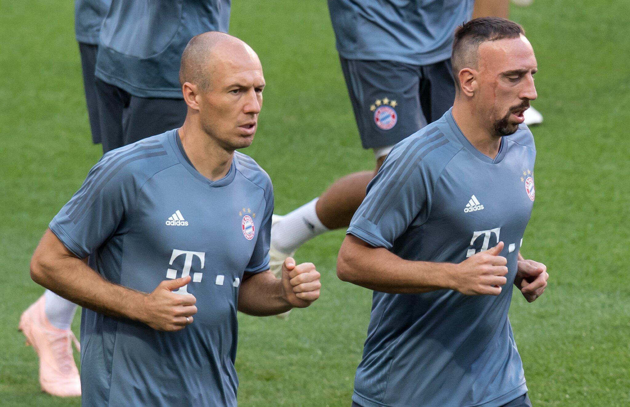 Bild zu Arjen Robben und Franck Ribery