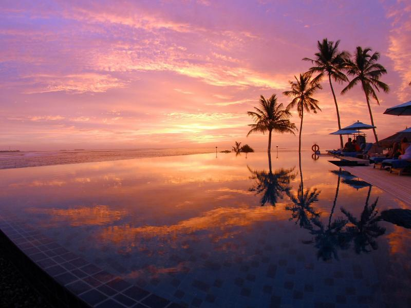 Bild zu Sonnenuntergang im «Anantara Veli»