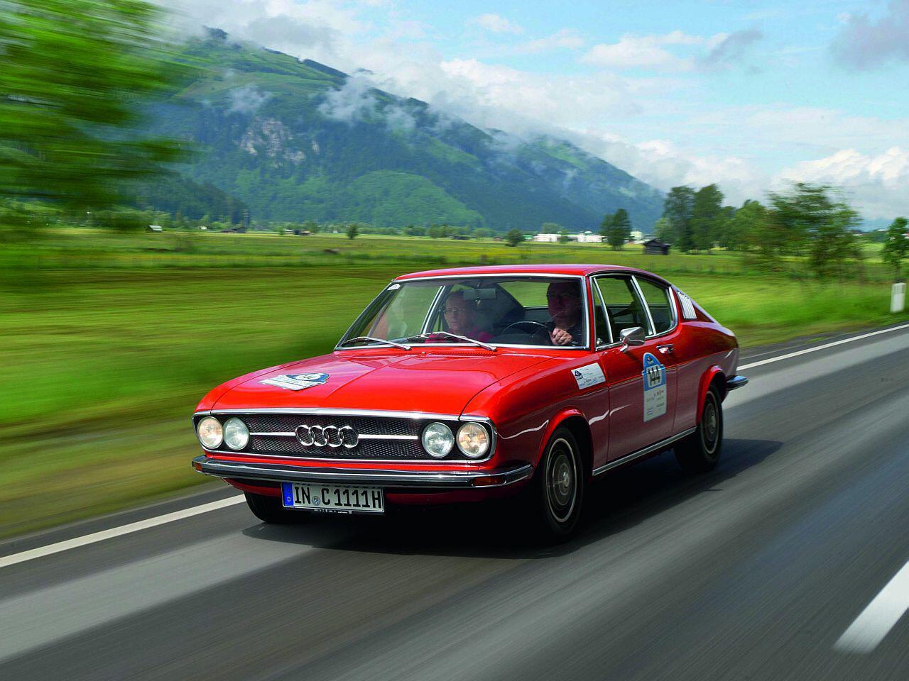 Bild zu Audi 100 Coupé S
