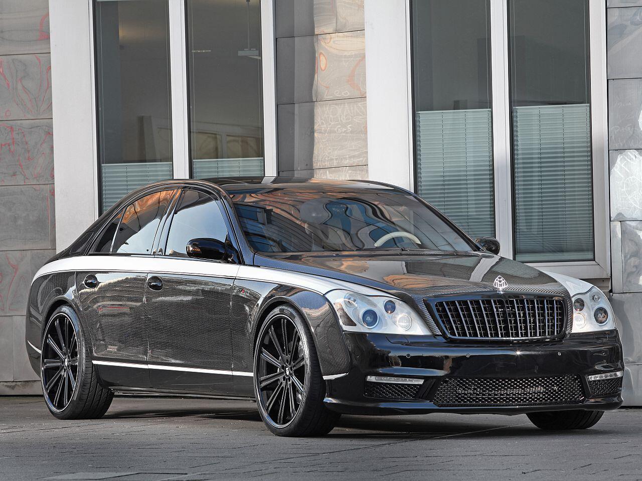 Bild zu Luxustuning: Aufgemotzter Maybach 57 S