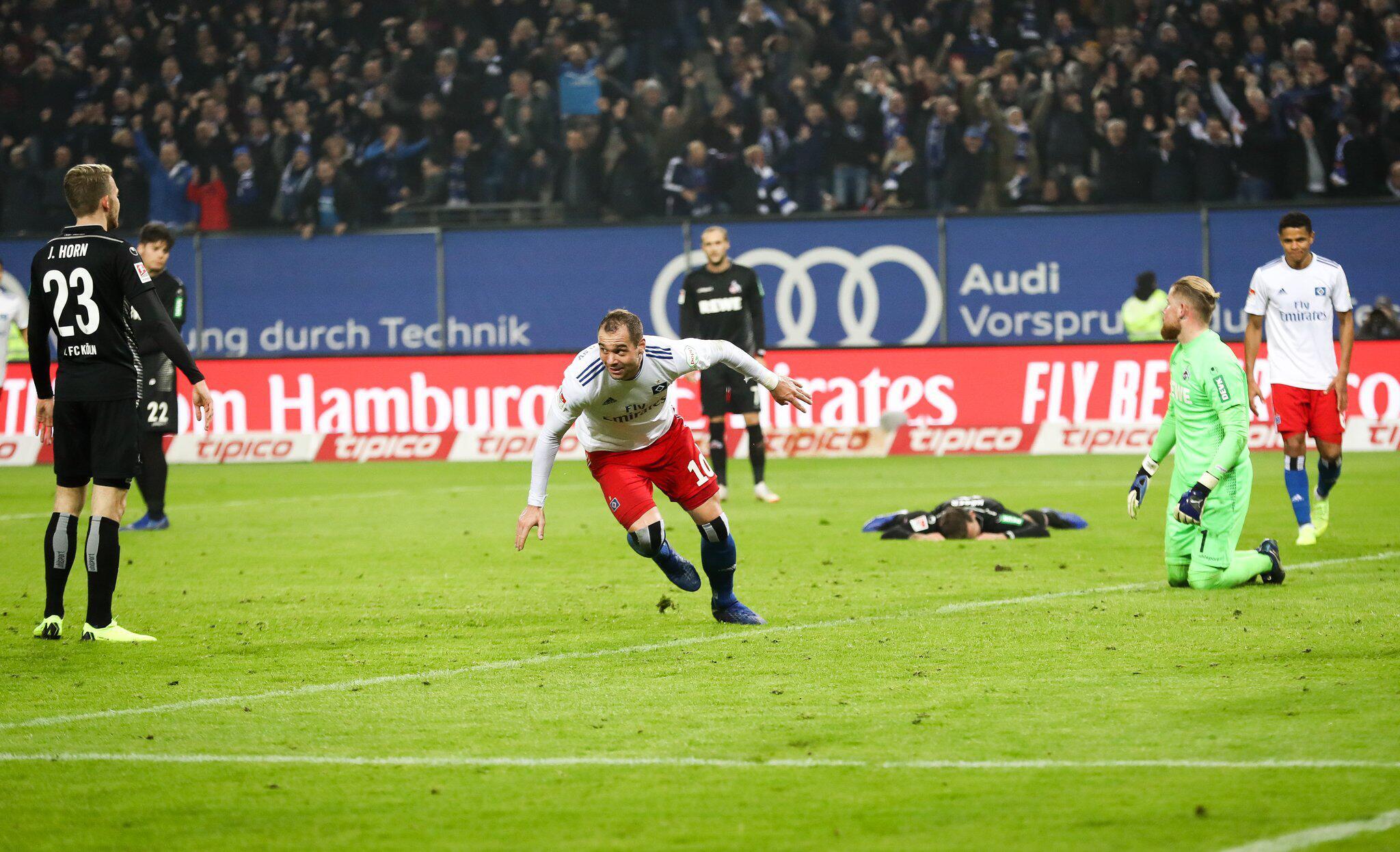 Bild zu Hamburger SV - 1. FC Köln
