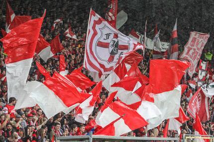 Fans des SC Freiburg.