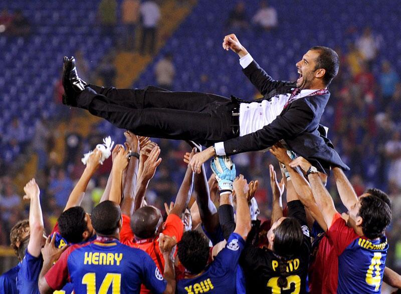 Bild zu Guardiola holt mit Barcelona 14 Titel