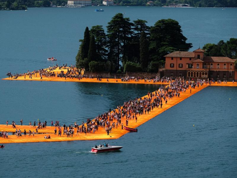 "Bild zu ""The Floating Piers"""