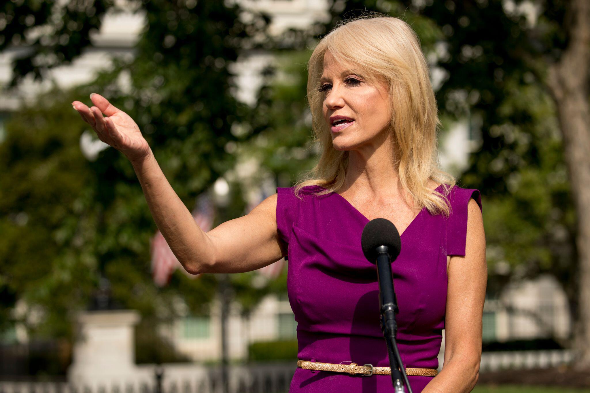 Bild zu Ehemalige Trump-Beraterin Kellyanne Conway