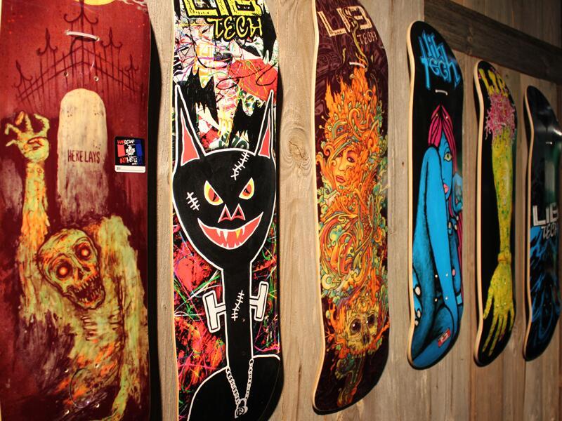 Bild zu Designhighlights bei Skateboards
