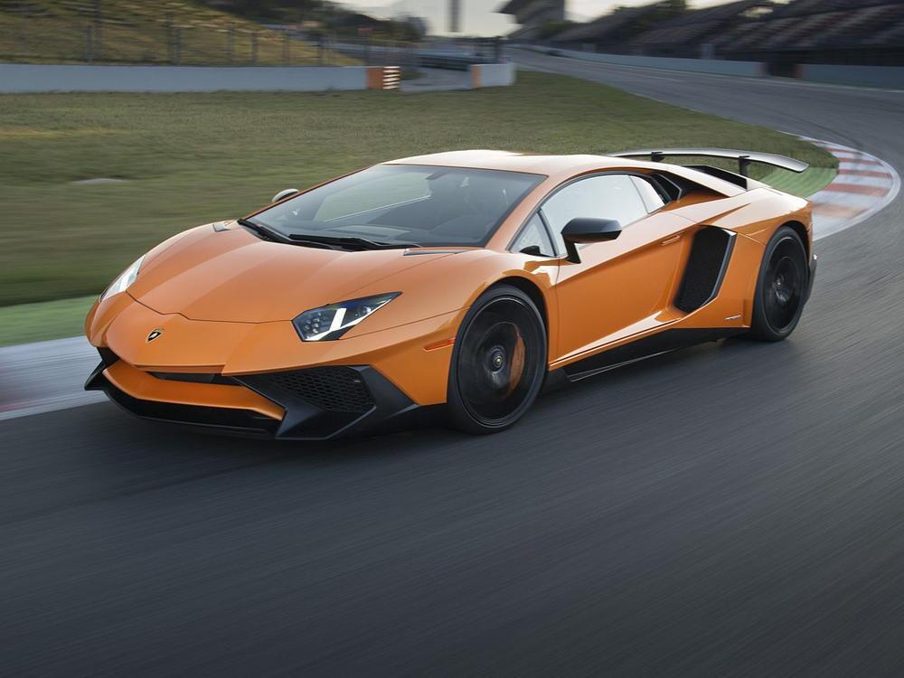 Bild zu Platz 1: Lamborghini Aventador