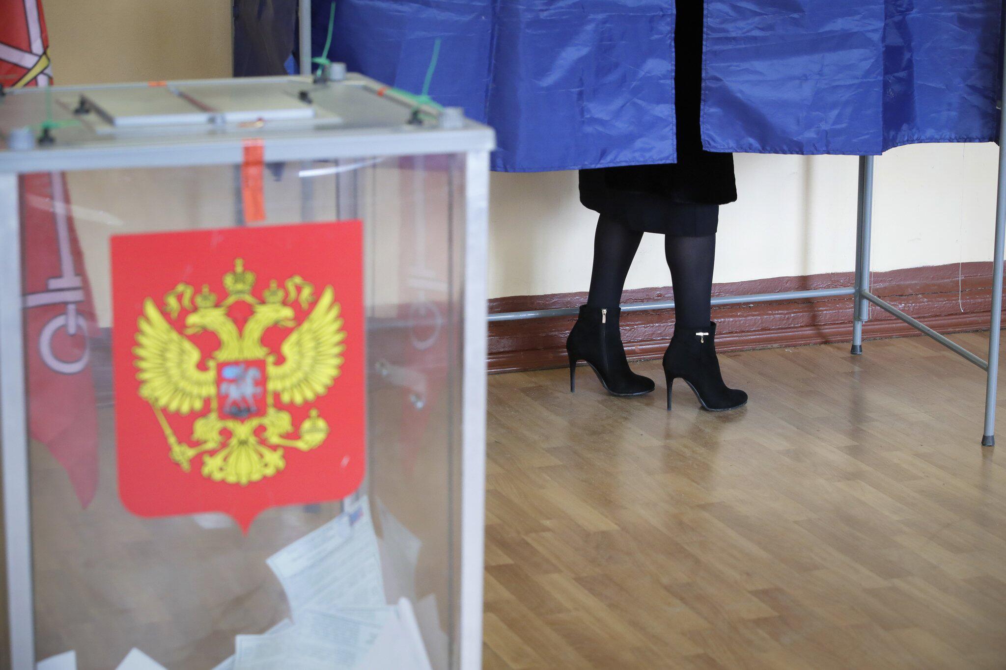 Bild zu Präsidentenwahl in Russland läuft