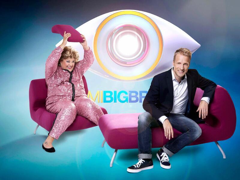"""Bild zu Oliver Pocher und Cindy aus Marzahn moderieren """"Promi Big Brother"""""""
