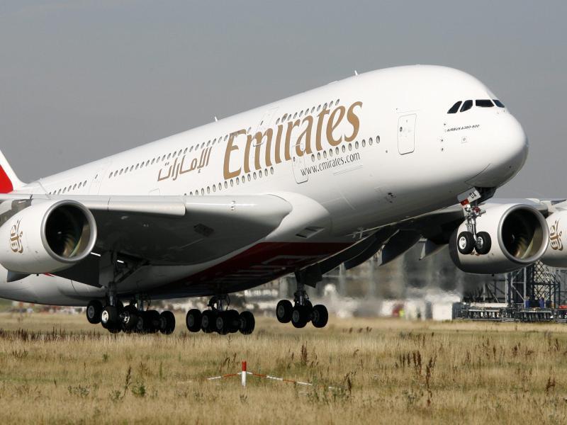 Bild zu Fluggesellschaft Emirates