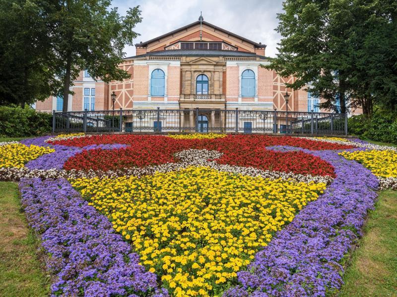 Bild zu Bayreuther Festspielhaus