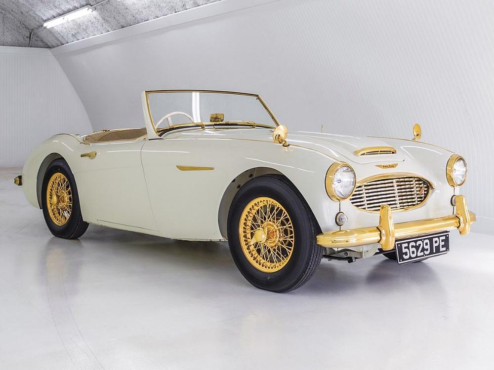"""Bild zu 1958 Austin-Healey 100-Six """"Goldie"""""""