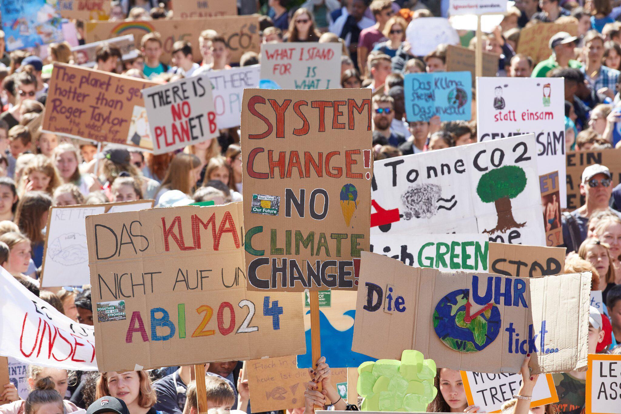 Bild zu Klima-Demonstration Fridays for Future