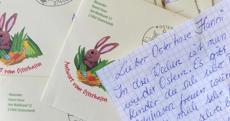 Müssen Briefe Einen Absender Haben : Tausende briefe an hanni hase im osterhasenbüro web