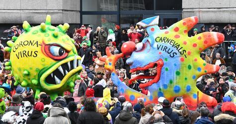 Karnevals-Gipfel in der Staatskanzlei