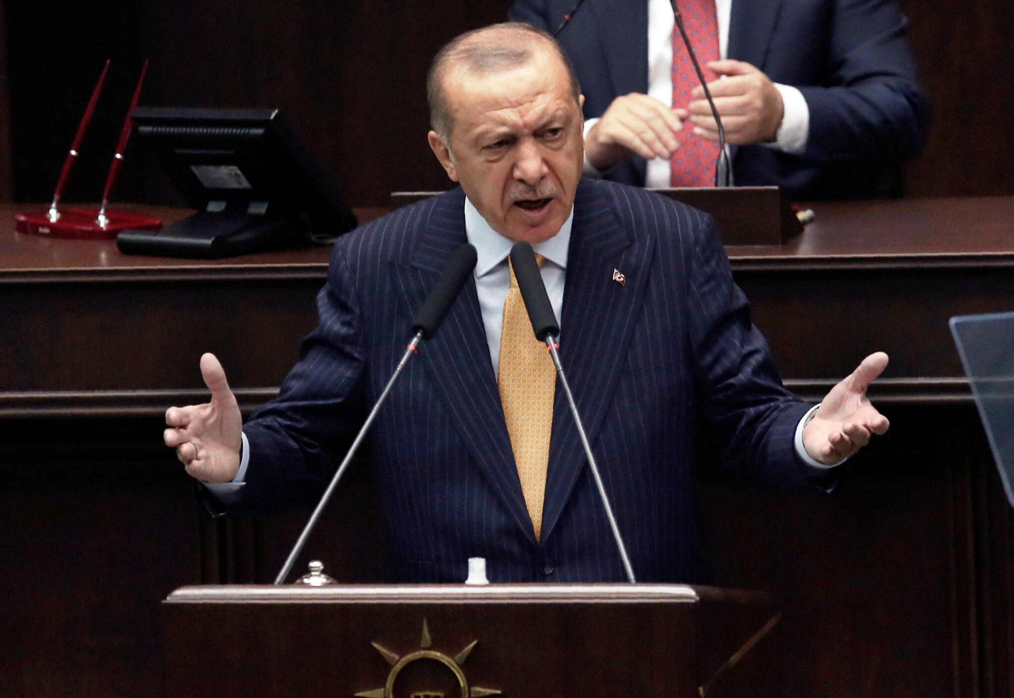Bild zu Karikaturenstreit - Erdogan