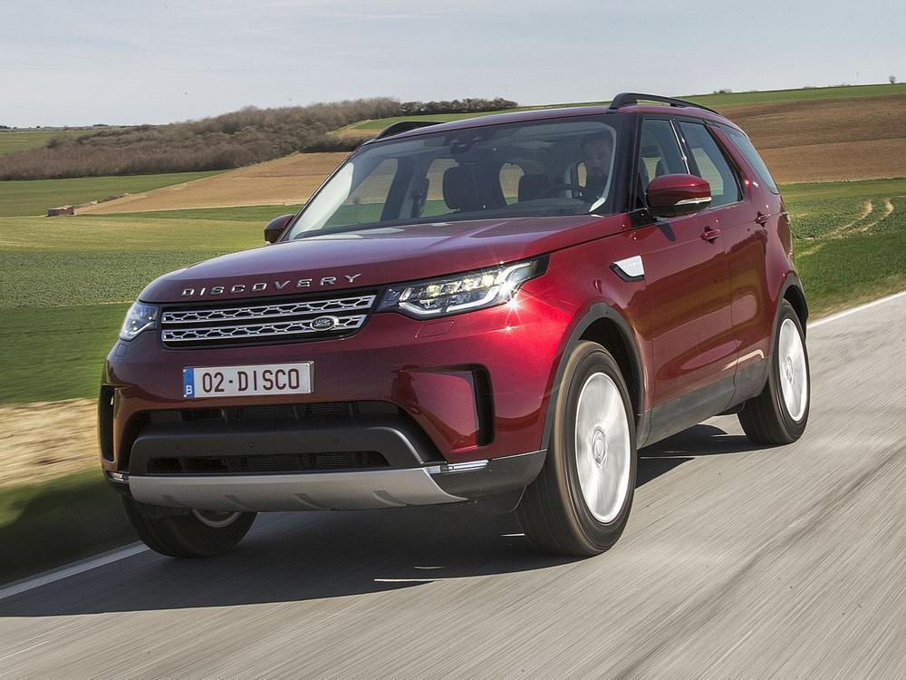 Bild zu Platz 2: Land Rover