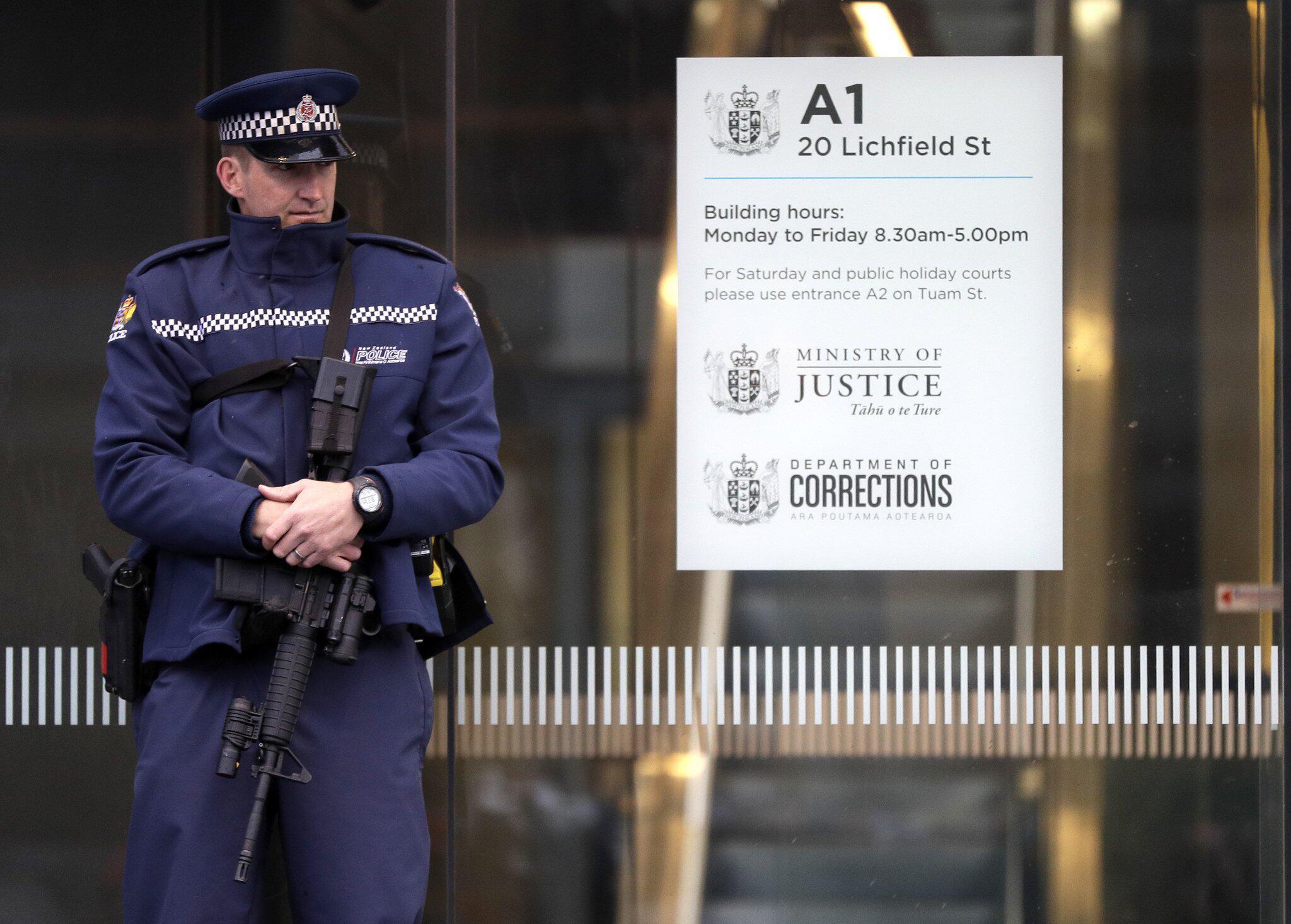 Bild zu Mutmaßlicher Christchurch-Attentäter vor Gericht