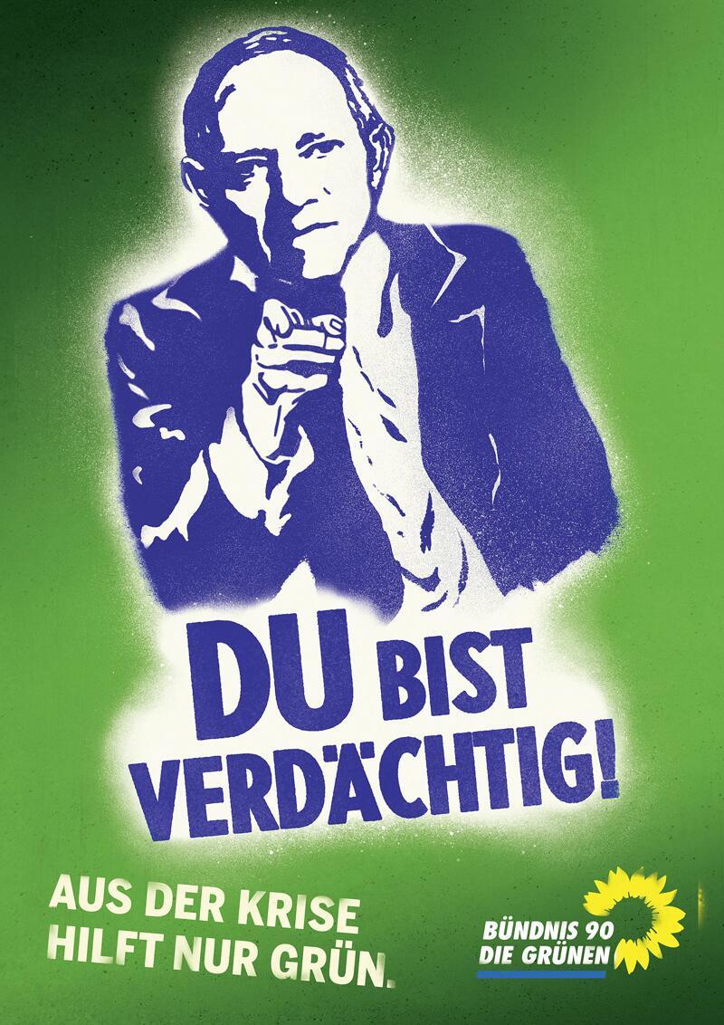 Bild zu Grünen-Wahlplakat
