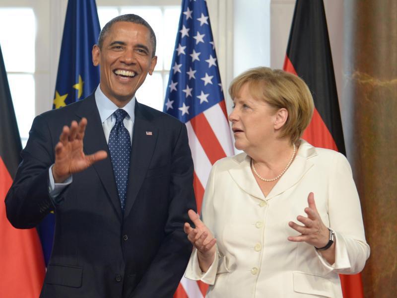Bild zu Obama und Merkel