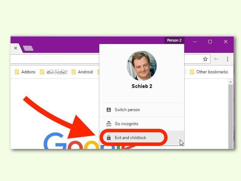 Bild zu Chrome-Profil besser schützen