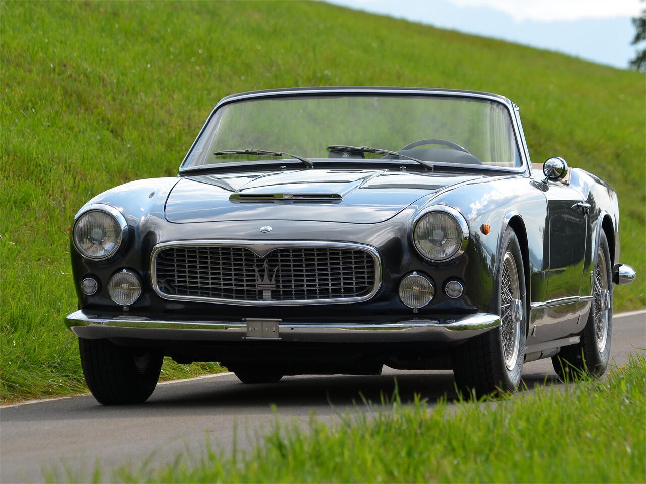 Bild zu Maserati 3500 GTi Cabriolet (1962)