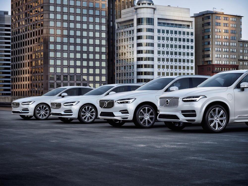 Bild zu Volvo Elektro-Flotte