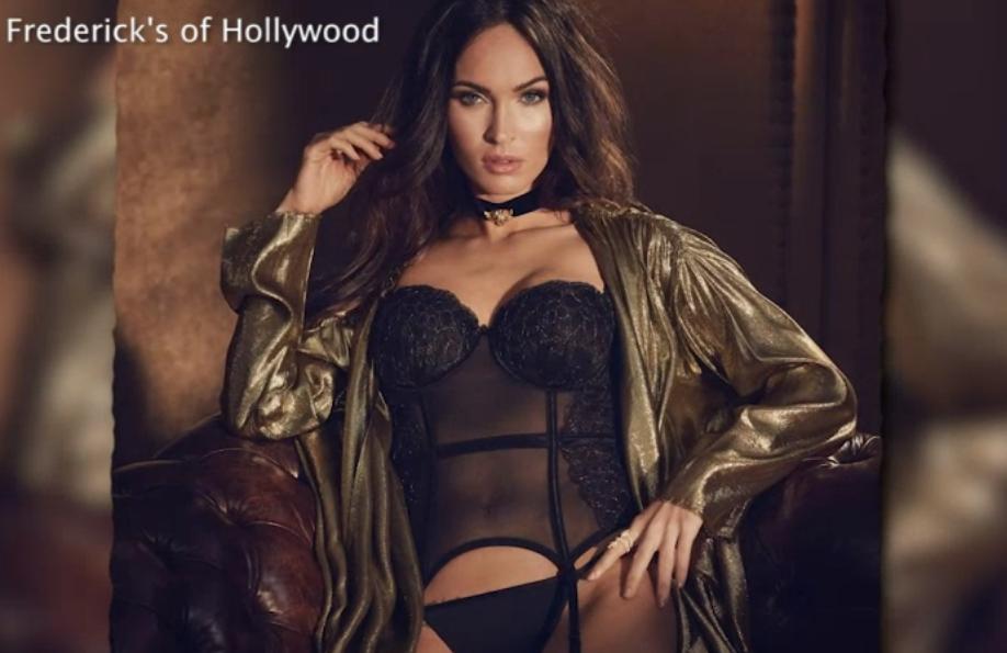 Bild zu Megan Fox begeistert mit sexy Dessouswerbung