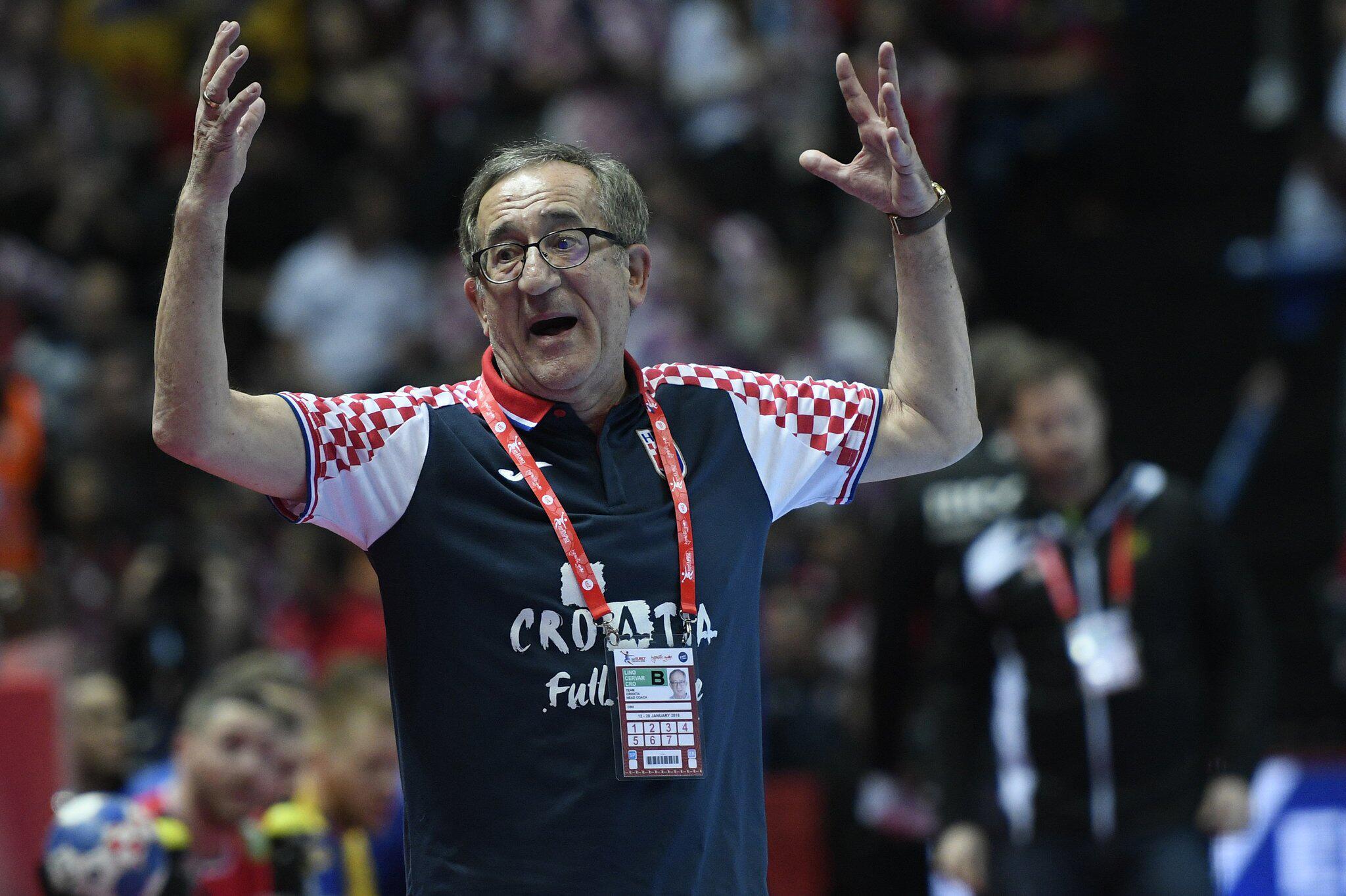 Bild zu Handball: EM, Kroatien - Schweden
